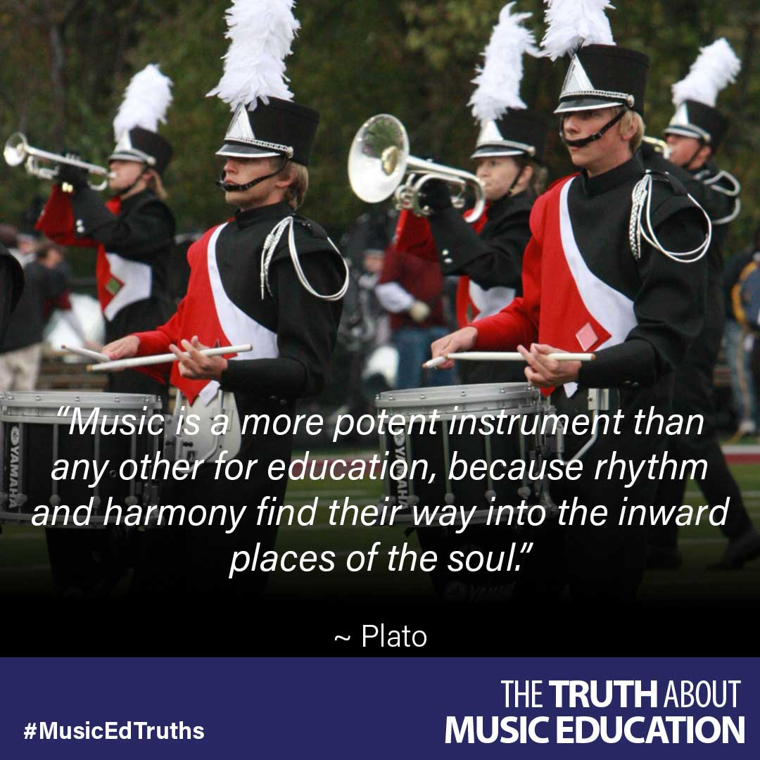 Music Is A More Potent Instrument Than Any Other For
