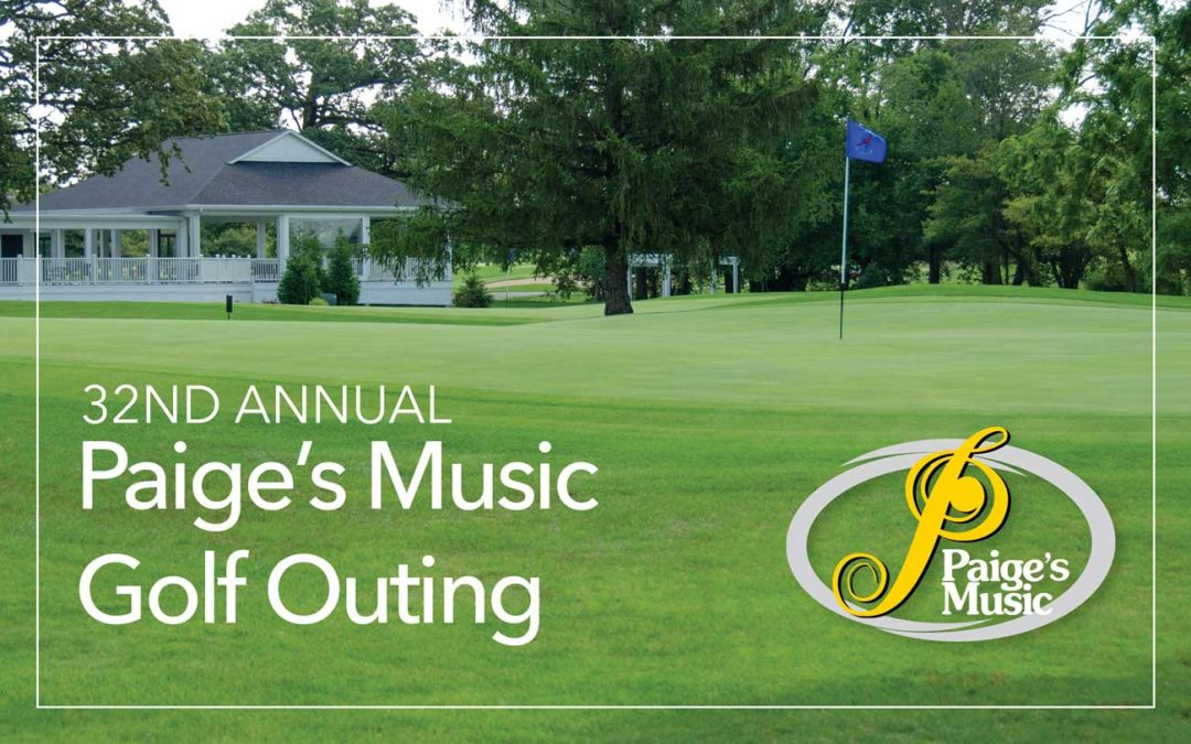 Last Call to Register For The 2018 Paige's Music Golf Outing
